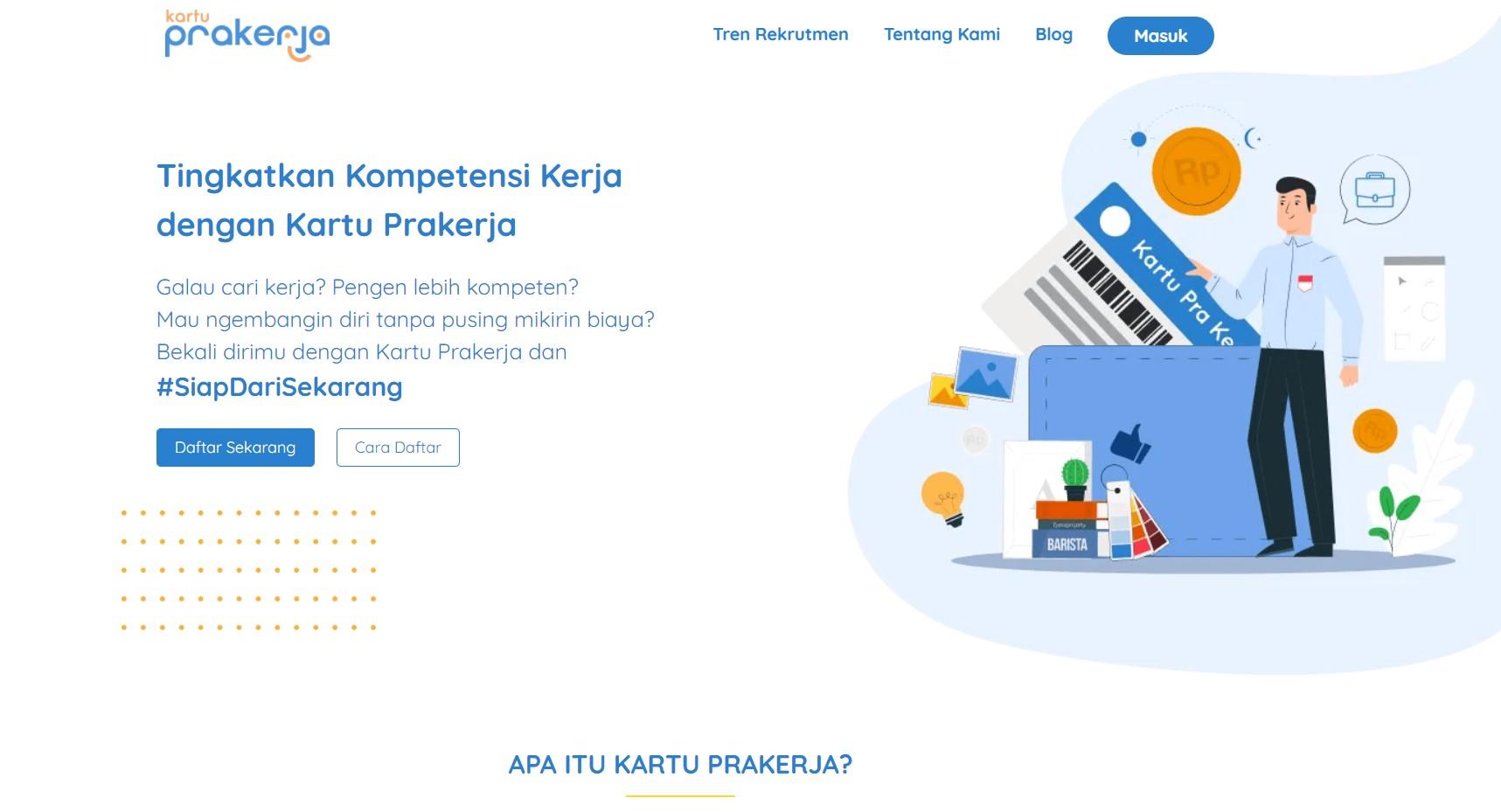 Prakerja Gelombang 9 sudah dibuka !, Login www.prakerja.go.id Kuota Mau Habis!